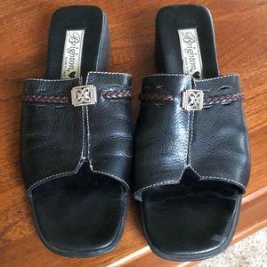 💐SUNDAY SALE💐Brighton Leather slip on sandal